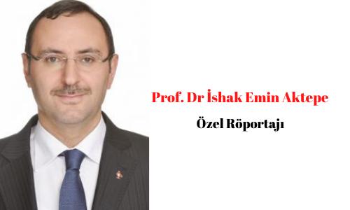 Erzincan Binali Yıldırım Üniversitesiİlahiyat Fakültesi DekanıProf. Dr. İshak Emin Aktepe ile Özel Röportaj