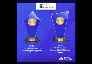 Katılım Emeklilik İki Ödülün Sahibi Oldu