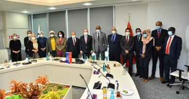 Cibuti Cumhuriyeti Heyeti TKBB'yi Ziyaret Etti