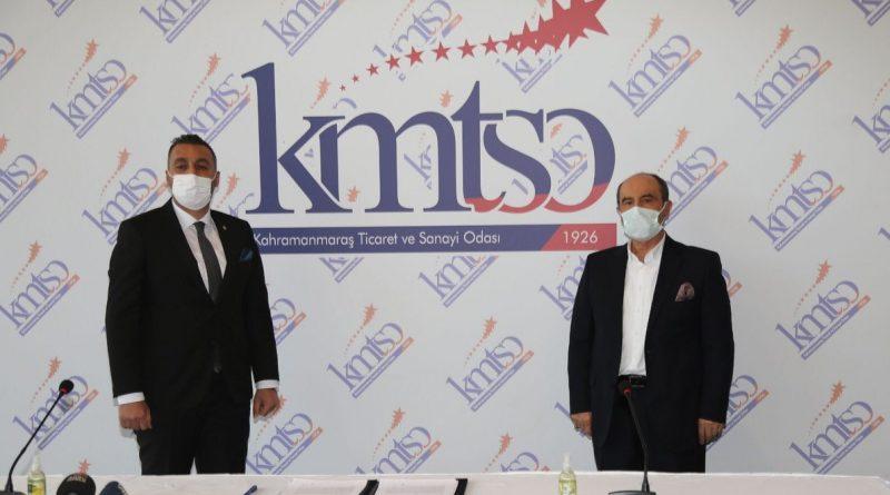 Vakıf Katılım Kahramanmaraş Şubesi, KMTSO ile Protokol İmzaladı