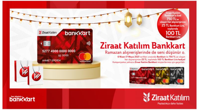 Ziraat Katılım'dan Ramazana Özel Kampanya!