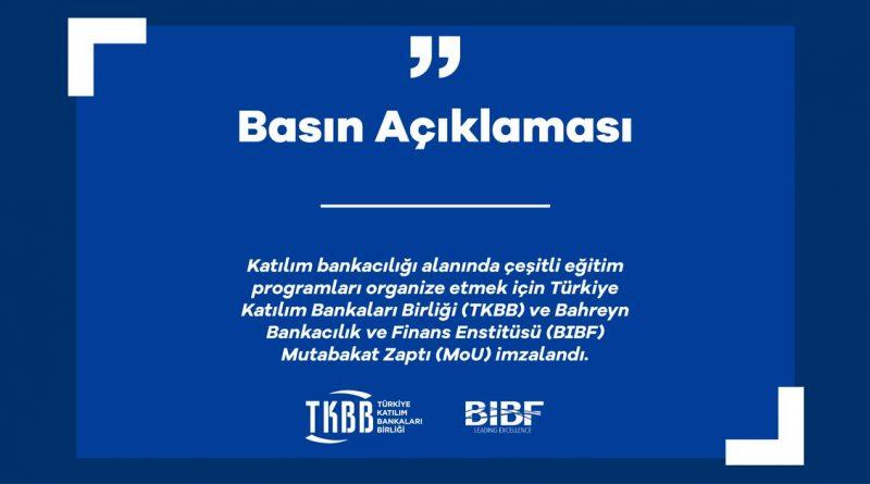 TKBB ve BIBF Arasında Mutabakat Zaptı İmzalandı