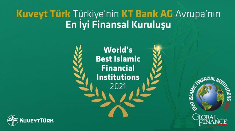 Kuveyt Türk'e Ve KT Bank AG'ye En İyi Finansal Kuruluş Ödülü