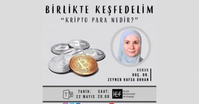 İZÜ İEF Kulübü 'Birlikte Keşfedelim' Serisi Kripto Para Konusu ile Devam Ediyor