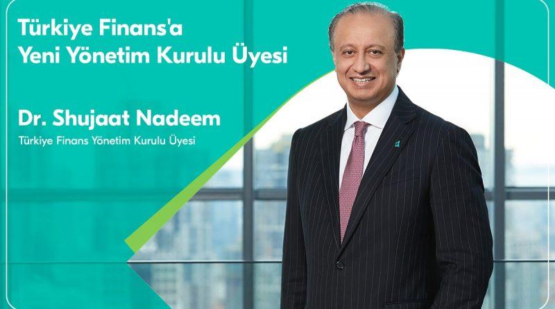 Türkiye Finans'a Yeni Yönetim Kurulu Üyesi