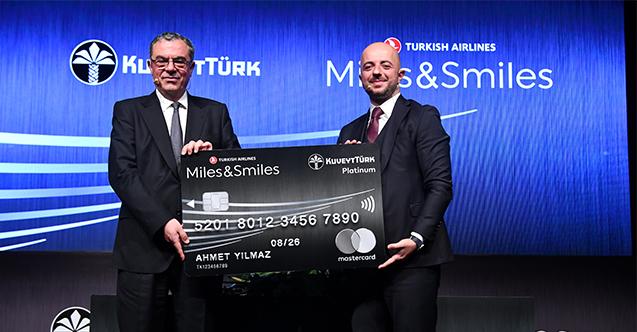 Kuveyt Türk ve Türk Hava Yolları Yollarını Miles&Smiles İle Birleştirdi